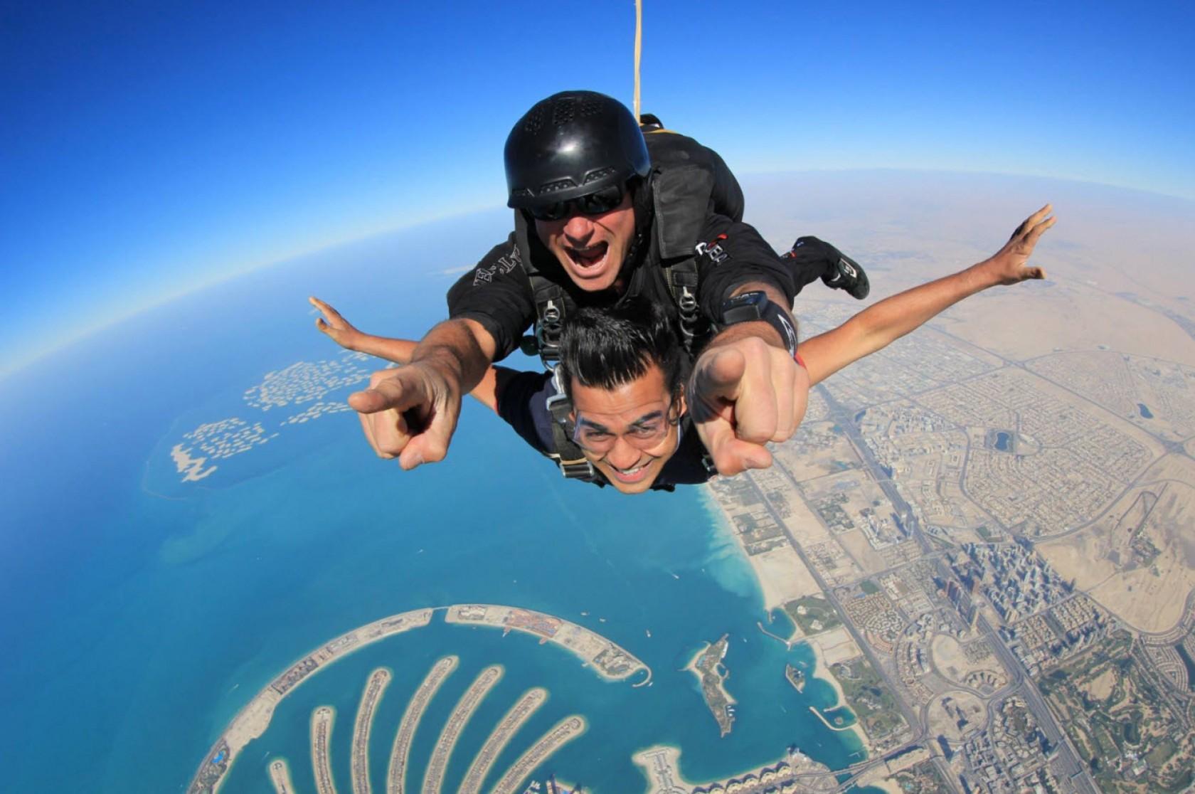 comment se deroulera votre seance de parachute